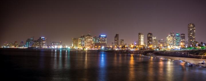 Tel Aviv-Yafo, cealalta fata alumii…