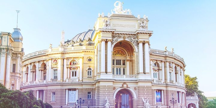 Odessa, intre sublim siderizoriu