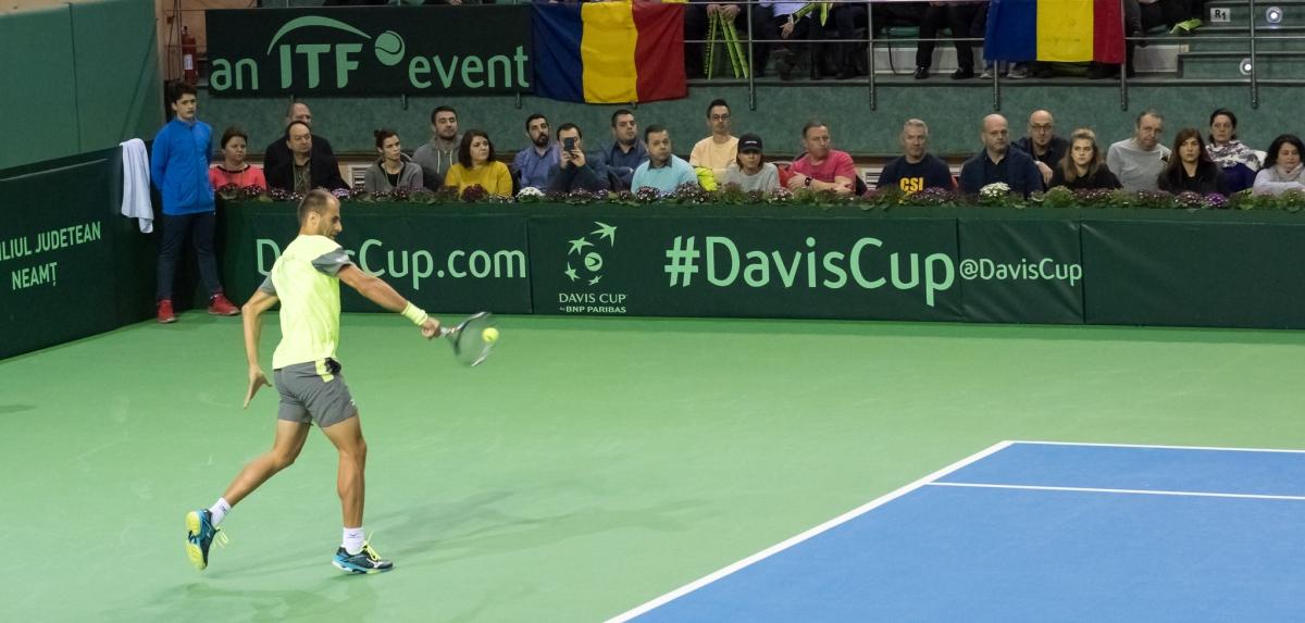 Cupa Davis, Romania-Luxemburg