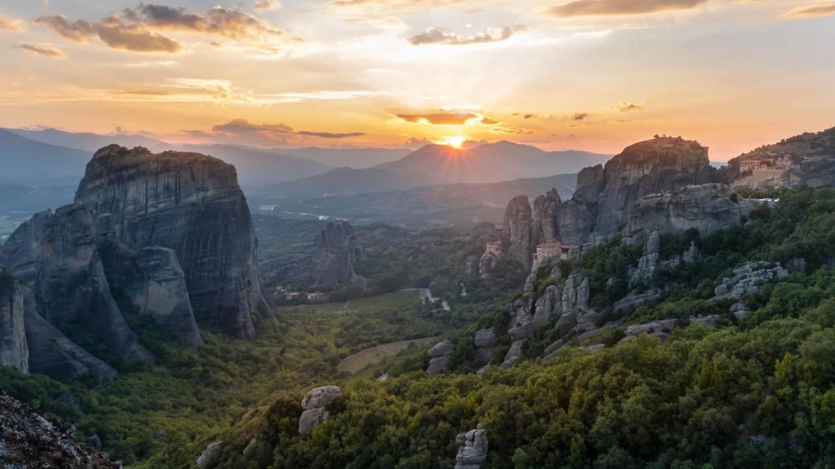 Meteora, minune a naturii si a arhitecturii